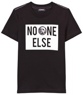 Diesel Black No One Else Print Tee