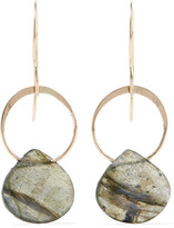 Melissa Joy Manning 14-karat Gold Labradorite Earrings - one size