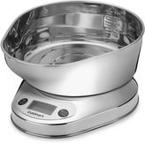 Cuisinart PrecisionChef Kitchen Food Scale with Stainless Steel Bowl