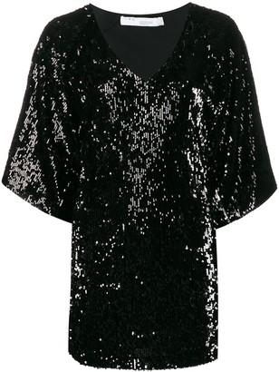 IRO Minia sequinned mini dress