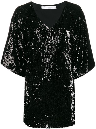 IRO Minia sequinned mini dress