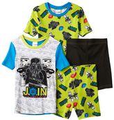 Boys 4-10 Lego Star Wars 4-Piece Pajama Set