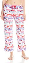 Hello Kitty Women's Warm and Toasty Rolled Pant