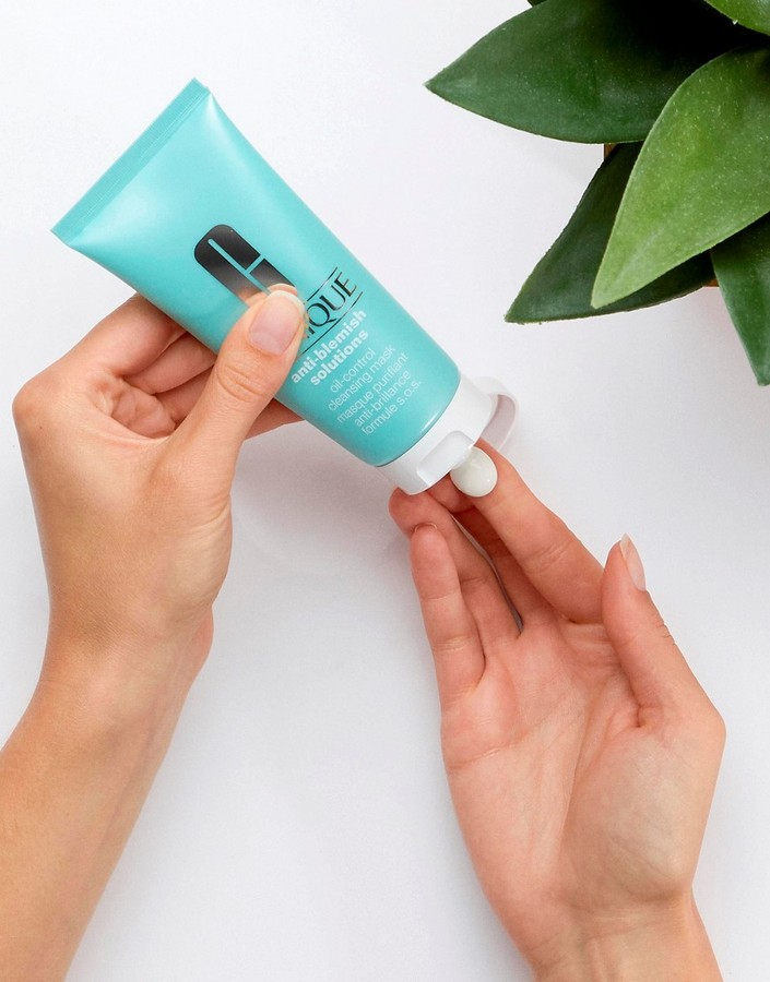 Thumbnail for your product : Clinique Anti Blemish Solutions Oil-Control Cleansing Mask 100ml-No colour