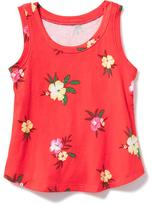 Old Navy Printed Jersey Tank for Toddler Girls