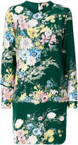 No.21 floral print dress - women - Silk/Acetate - 42