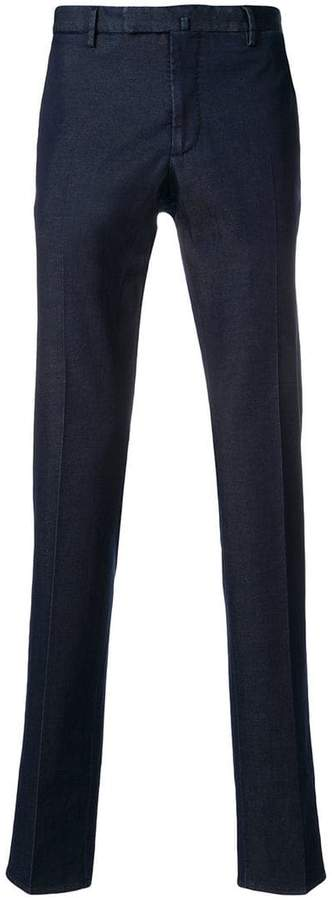 Incotex denim chino trousers