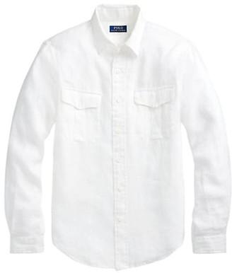 Polo Ralph Lauren Regular-Fit Garment Dyed Linen Shirt