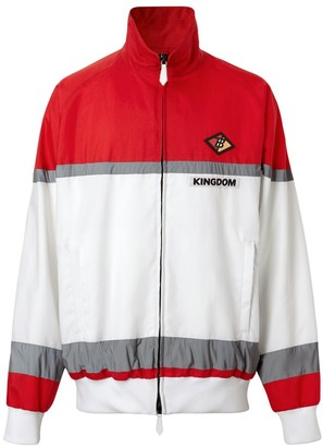 Burberry Colorblock Stripe Track Top