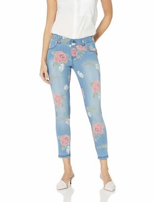 Hue Women's Ultra Soft Denim Jean Skimmer Leggings Assorted
