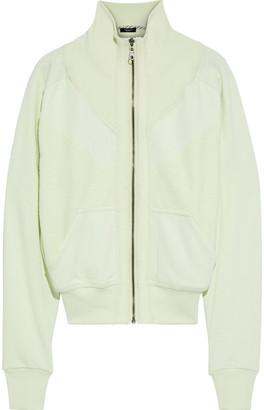 Twenty Montreal Paneled French Cotton-blend Terry Track Jacket