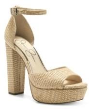 Jessica Simpson Women's Pisila Platform Sandals Women's Shoes