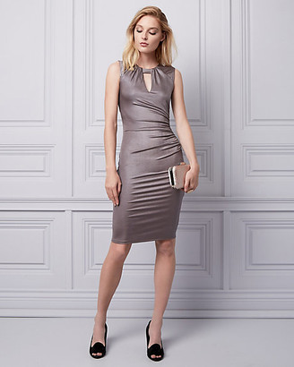Le Château Shiny Knit Cocktail Dress