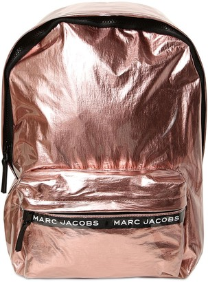 Little Marc Jacobs Coated Transparent Metallic Backpack
