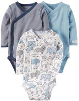 Carter's Baby Boy 3-pk. Side-Snap Bodysuits