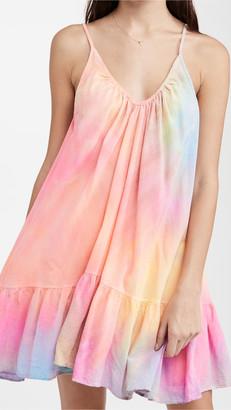 9seed St Tropez Dress   Neon Tie Dye