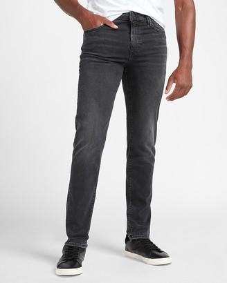 Express Slim Black Hyper Stretch Jeans