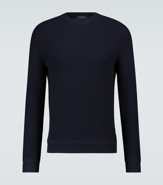 Ermenegildo Zegna Wool-blend crewneck sweater