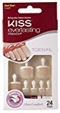Kiss Products Everlasting French Toenail Timeless Kits, 0.07 Pound