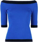 Moschino boat neck jumper - women - Polyamide/Rayon - 40