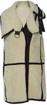 Bouchra Jarrar Ecru Wool Coats