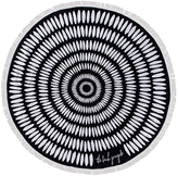 The Beach People The Tulum Round Towel
