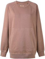 Burberry kangaroo pocket sweatshirt - women - Cotton - XS