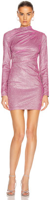 RtA Harper Dress in Disco Pink | FWRD