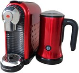 Espressione Espresso Station, Metallic Red - Metallic Red