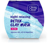 Clean & Clear Night Relaxing Detox Clay Mask