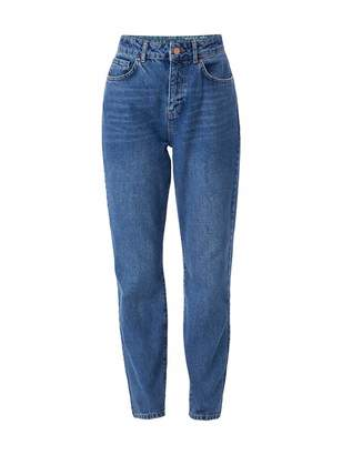 Noisy May Nos De NOS DE Women's NMISABEL HW ANKL MOM JNS KI018MB BG NOOS Straight Jeans