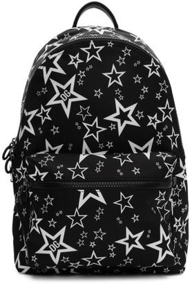 Dolce & Gabbana Black Millennial Star Backpack