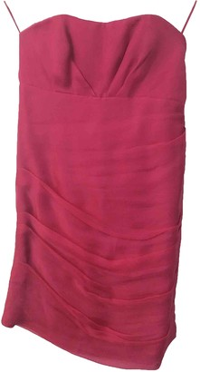 Jay Ahr Pink Silk Dress for Women