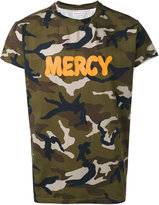 Palm Angels camouflage print T-shirt - men - Cotton/Plastic/Spandex/Elastane - S