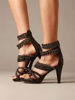 Strappy Chains Heel