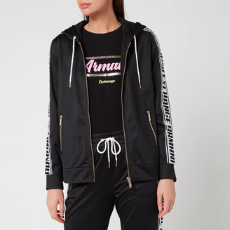 Armani Exchange Women's Full Zip Taping Hoodie