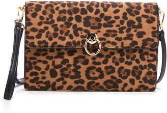 Sole Society Faux Leather Clutch