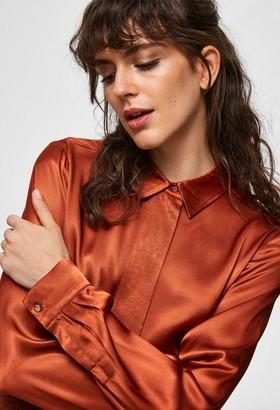 Selected Audrey Odette Ls Shirt - 16