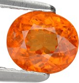 GemsRoyal 1.09 Ct. Charming Juicy Color Mandarin Garnet Gem Loose Gemstone With Glc Certify