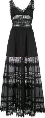 Charo Ruiz Ibiza lace embellished flared Sophia dress