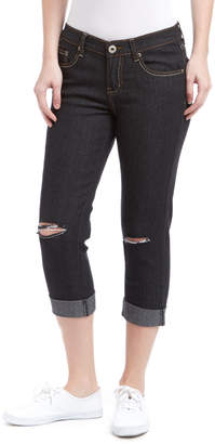 Be Girl be-girl Women's Denim Pants and Jeans Black - Black Ripped Capri Jeans - Women