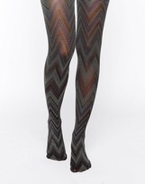 Gipsy Psychedelic Chevron Tights