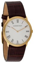 Audemars Piguet 18K Leather Strap Watch