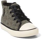 Ralph Lauren Sag Harbour Tweed Sneaker