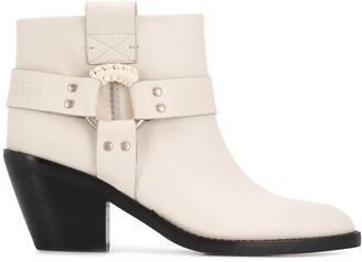 See by Chloe side-ring ankle boots