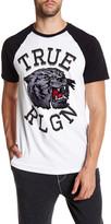 True Religion Mascot Raglan Tee
