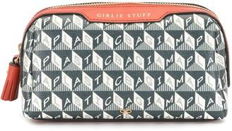 Anya Hindmarch Geometric-Pattern Make-Up Bag