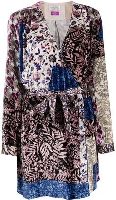 Forte Forte Floral Print Wrap Dress