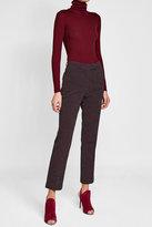Nina Ricci Ribbed Wool Turtleneck Pullover