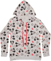Disney Mickey Mouse Womens Juniors Lightweight Hoodie